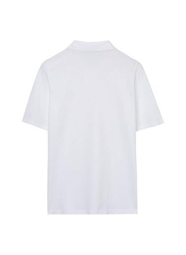 Gant Polo Yaka Tişört Beyaz
